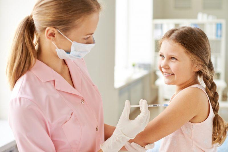 diminuir a dor da vacinação